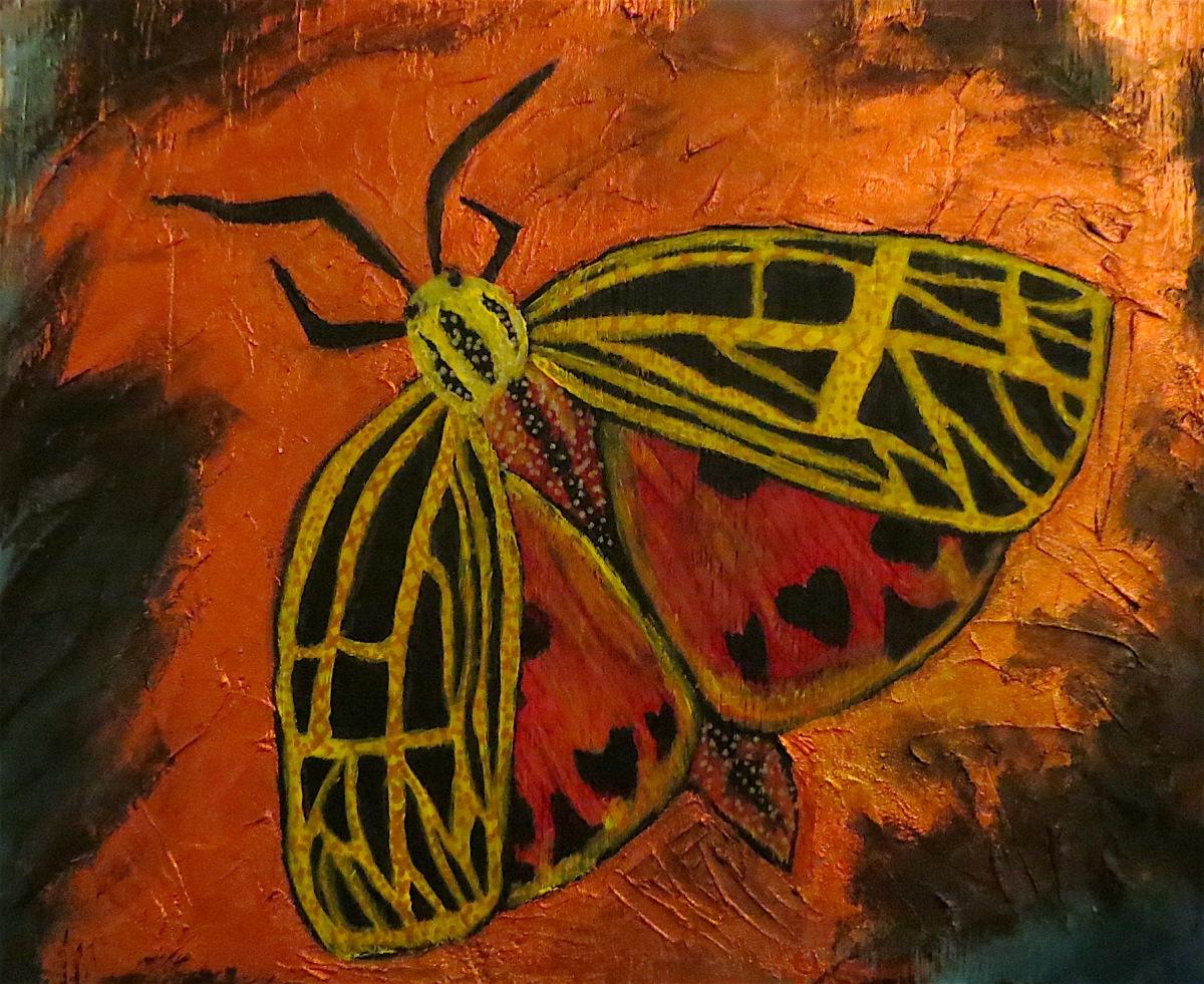 Garden Tiger Moth – 9 TAIL FOX ART
